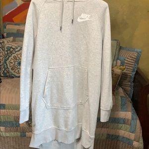Nike sweatshirt dress m